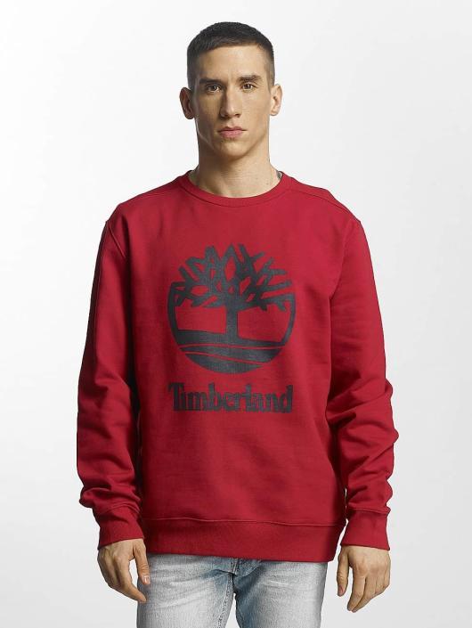 Timberland Hoodies Stacked červený