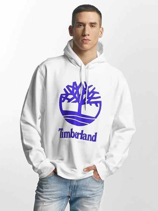 Timberland Hoodies Stacked Logo bílý