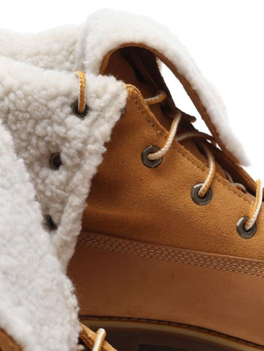 Timberland Sneakers Authentics 6Waterproof Faux Shearling hnedá