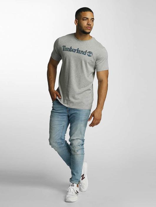 Timberland T-Shirt Dustan River Camo Print gray