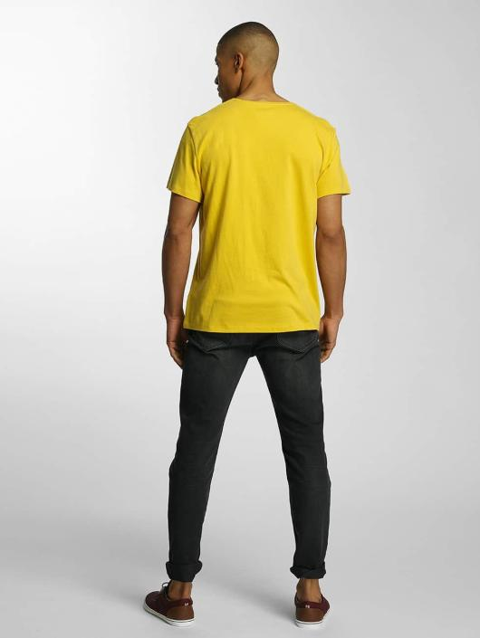 Timberland T-Shirt Big Logo yellow