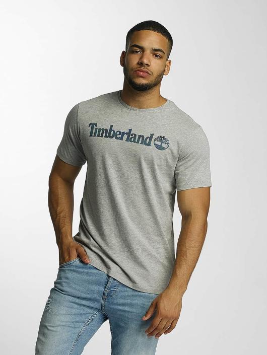Timberland T-Shirty Dustan River Camo Print szary