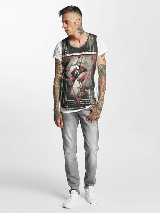 trueprodigy T-Shirt Kiss blanc
