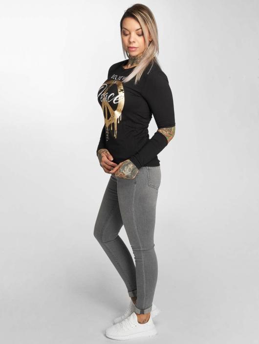trueprodigy T-Shirt manches longues Believe noir