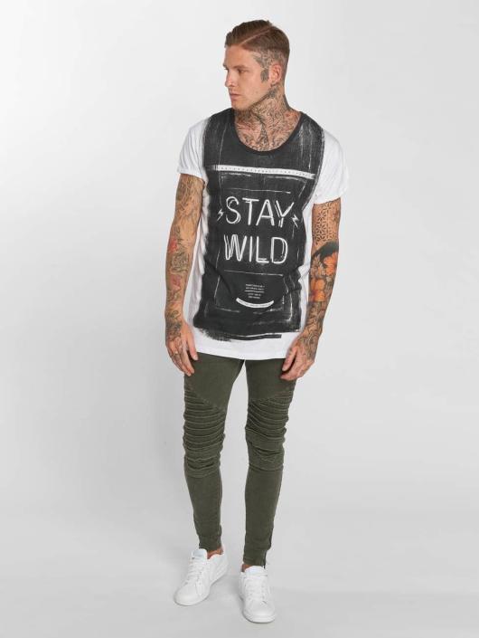 trueprodigy T-Shirt Stay Wild weiß