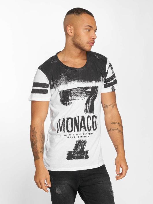 trueprodigy Tričká Go To Monaco biela