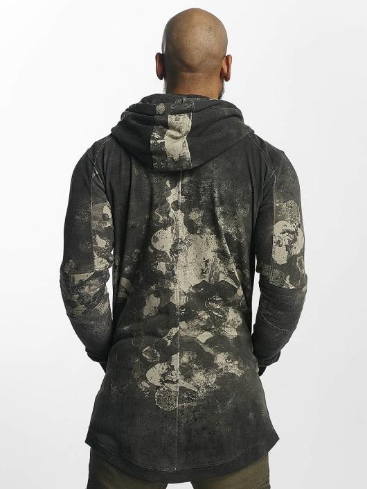 trueprodigy Zip Hoodie Marbled gray