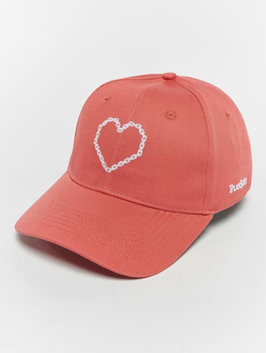 TrueSpin Кепка с застёжкой True Love красный