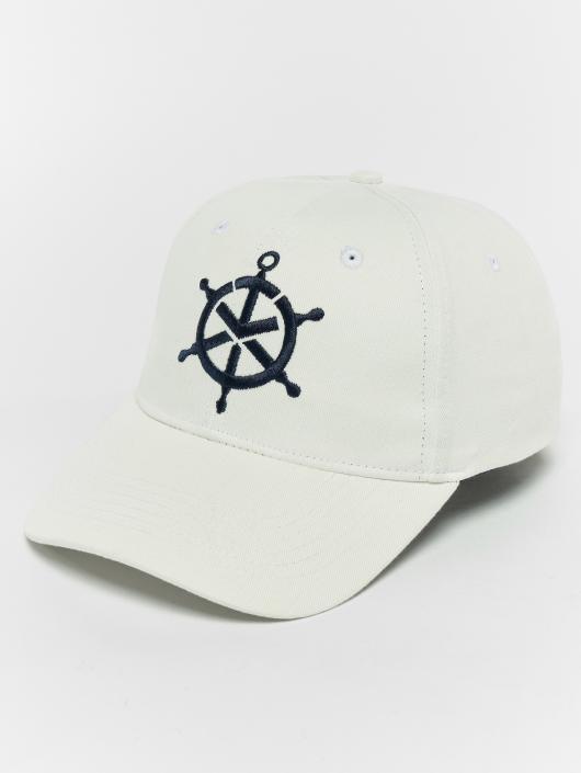 TrueSpin Snapback Caps Mate bílý