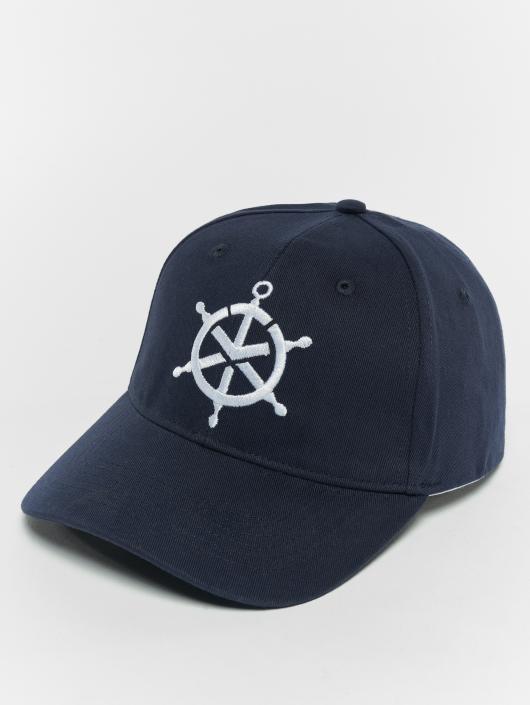 TrueSpin Snapback Caps Mate blå