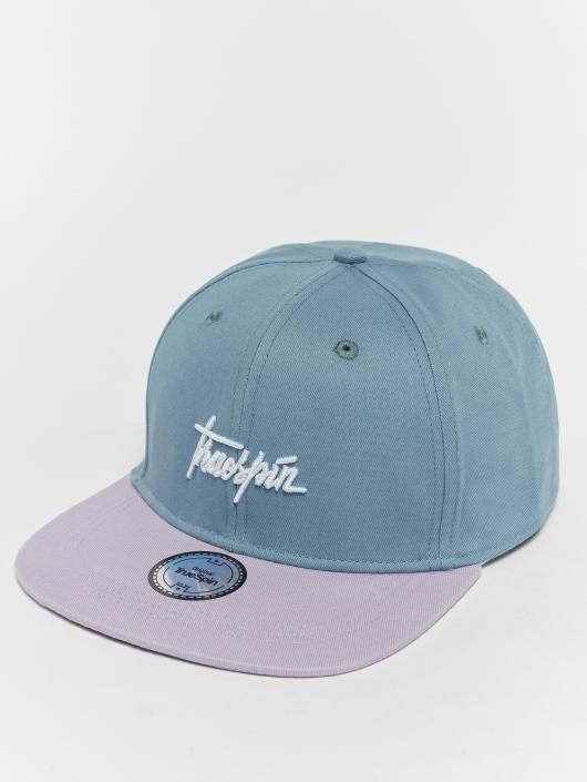 TrueSpin Snapback Caps Script purpuranpunainen