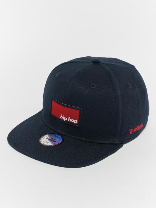 TrueSpin Snapback Caps Hip Hop sininen