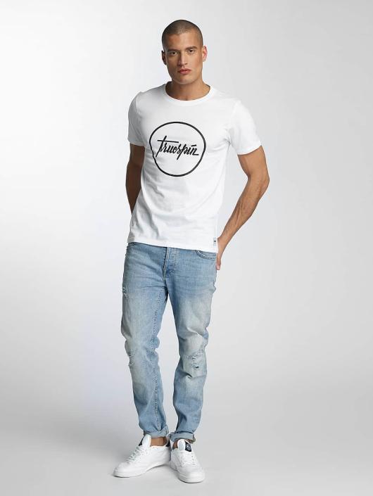TrueSpin T-skjorter 5 hvit