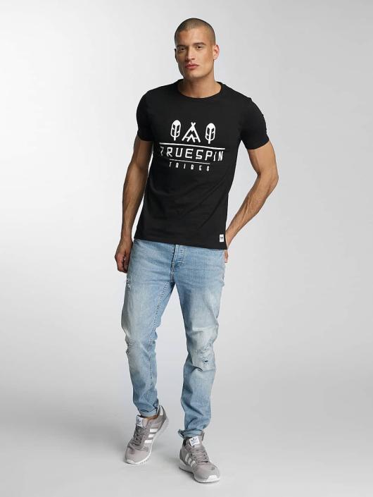 TrueSpin T-skjorter 8 svart