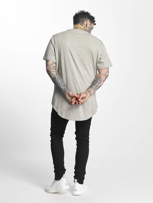 Tuffskull T-shirt Zipline grigio