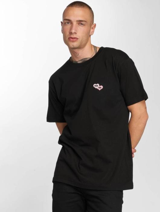 TurnUP T-Shirty F U czarny