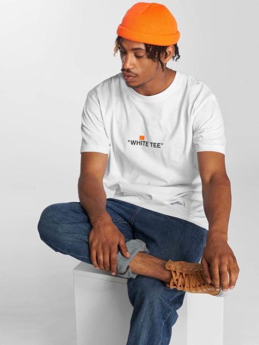 TurnUP T-skjorter White hvit