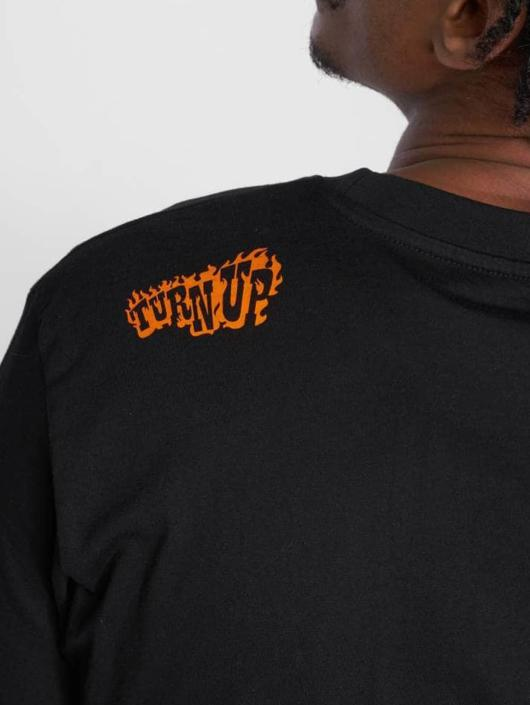TurnUP T-skjorter Happens svart