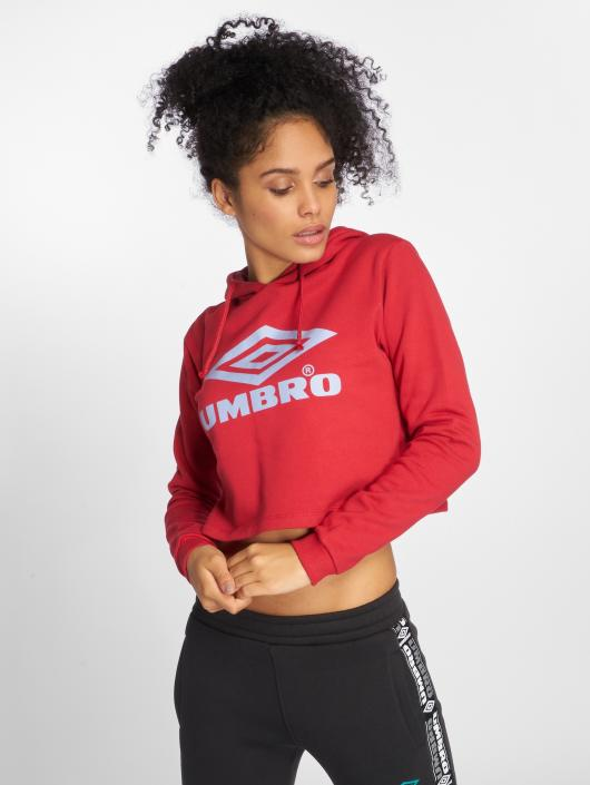 Umbro Hoody Cropped OH rot