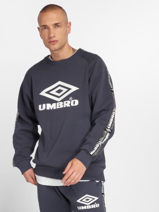 Umbro Swetry Taped Crew niebieski