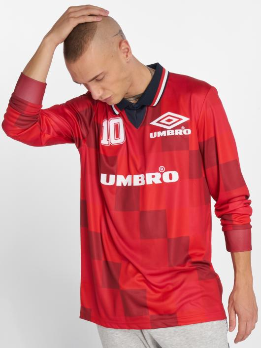 Umbro T-Shirty Monaco LS Football czerwony