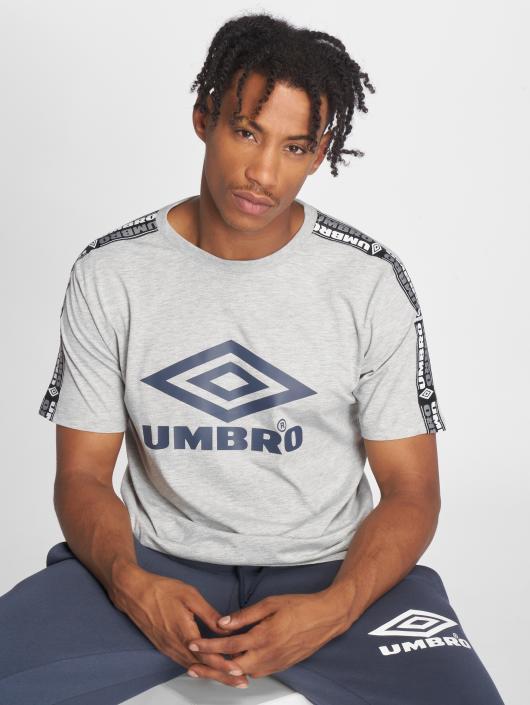 Umbro T-Shirty Taped Crew szary