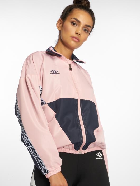 Umbro Transitional Jackets Shell rosa