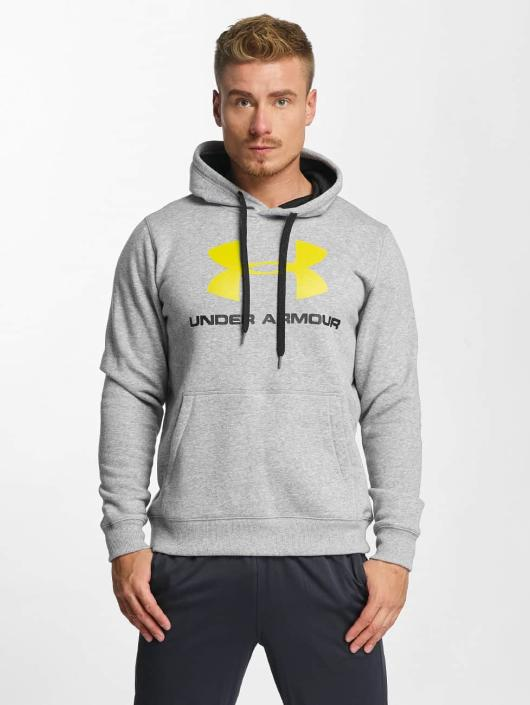 Under Armour Hoody Rival grau