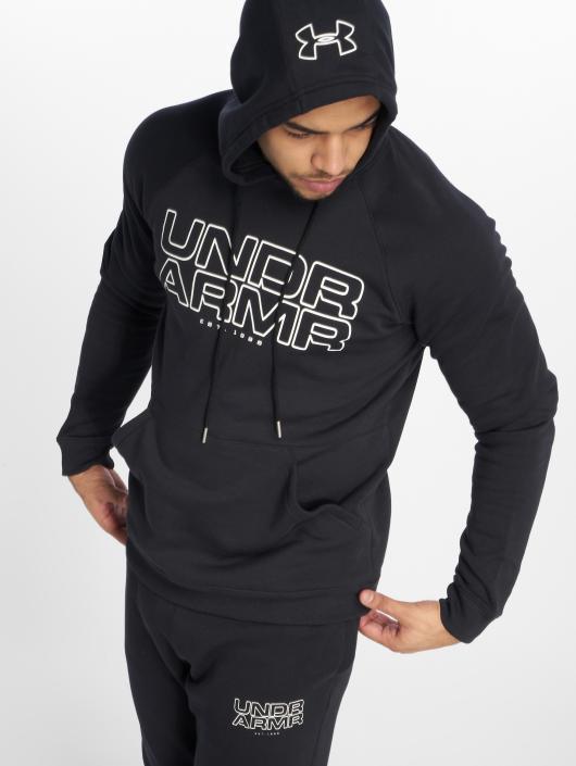Under Armour Hoody Baseline Fleece schwarz