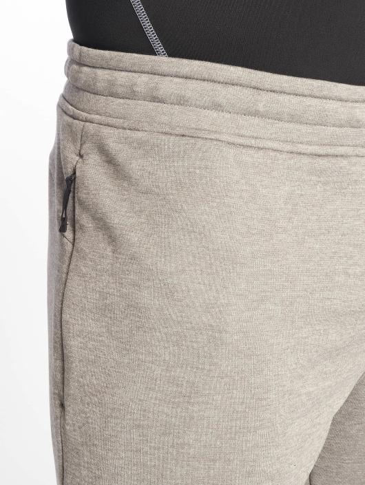 Under Armour joggingbroek Tech Terry Tapered grijs
