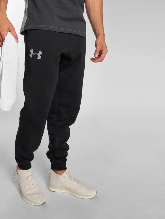Under Armour joggingbroek Rival Cotton zwart