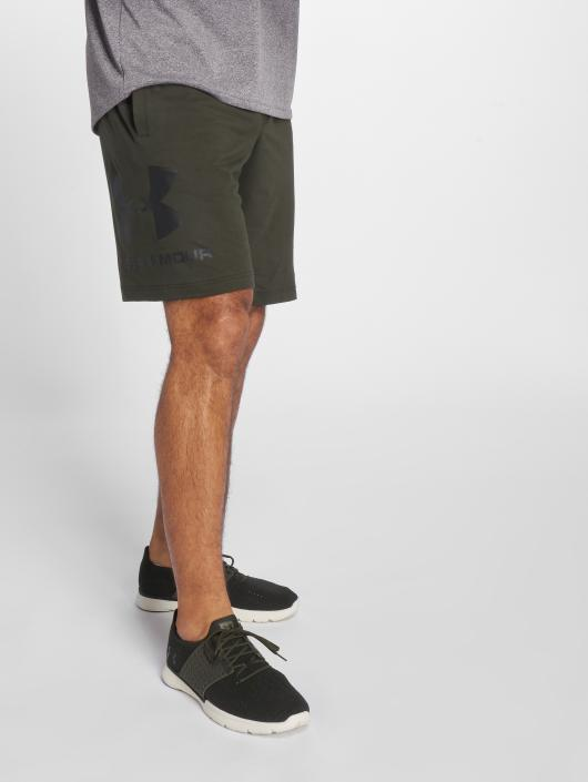 Under Armour Performance Shorts Sportstyle Cotton Graphic green