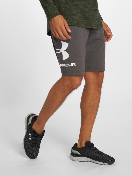 Under Armour Performance Shorts Cotton Graphic grey