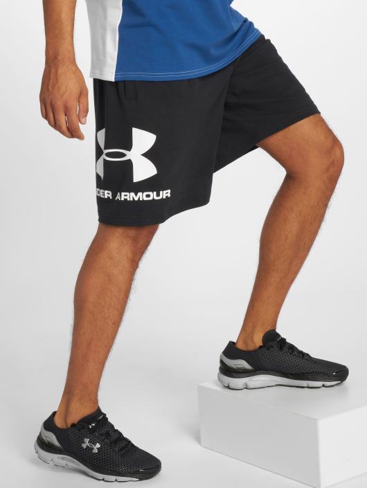 Under Armour Shorts Sportstyle Cotton Graphic schwarz