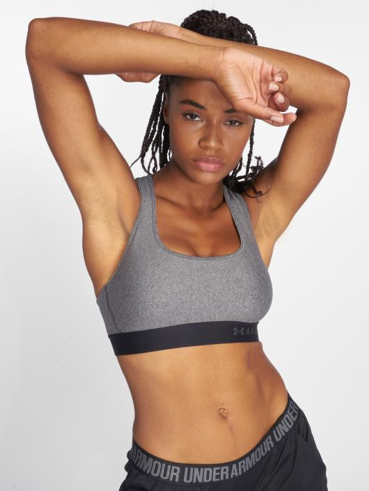 Under Armour Sports Bra Armour Mid Crossback grey