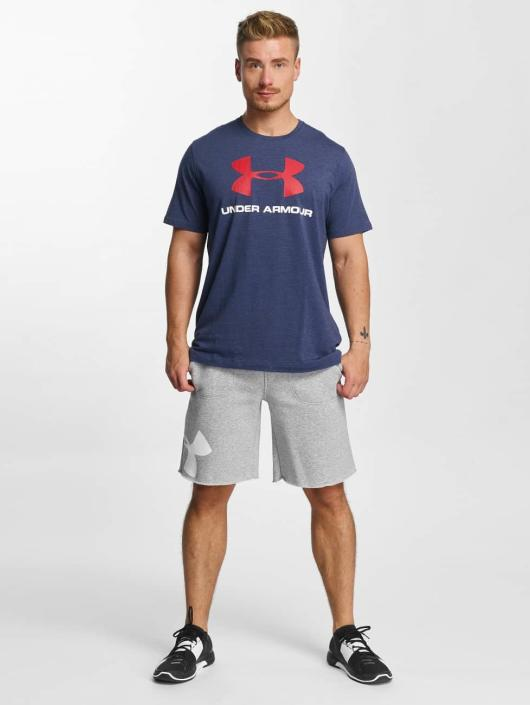 Under Armour T-Shirt Charged Cotton blau