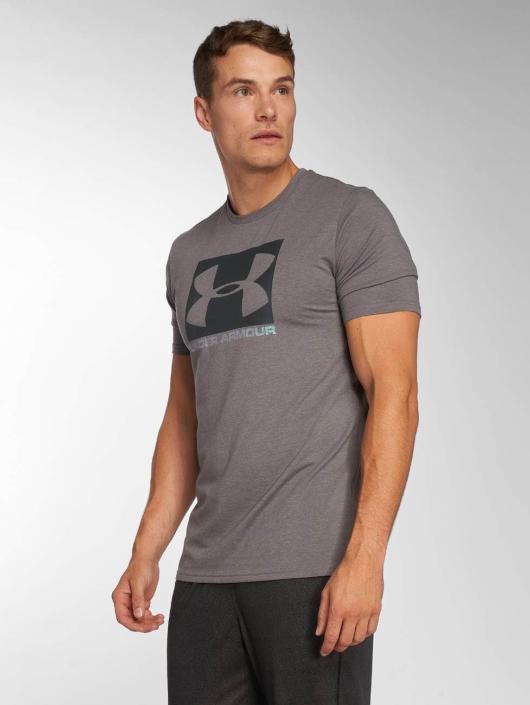 Under Armour t-shirt Boxed Sportstyle grijs