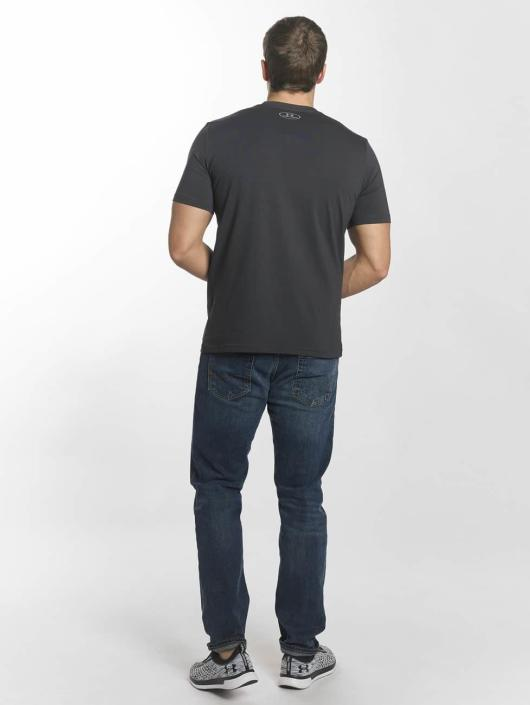 Under Armour t-shirt Blocked Sportstyle grijs