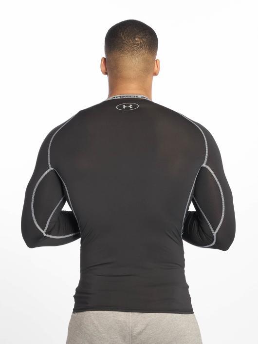 Under Armour T-Shirt manches longues Heatgear Compression noir