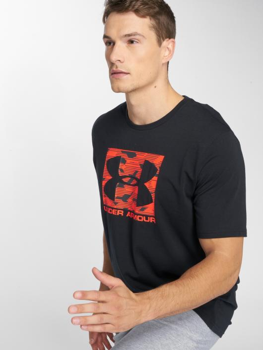 Under Armour t-shirt Boxed Sportstyle zwart