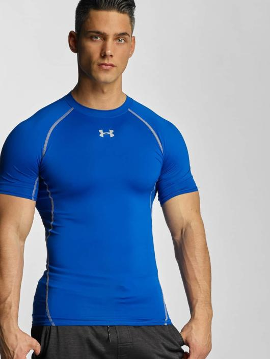 Under Armour T-Shirty Under Armour Heatgear Compression niebieski