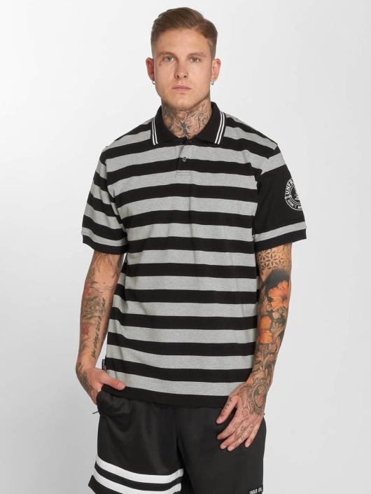 UNFAIR ATHLETICS Poloshirt Yarndye black