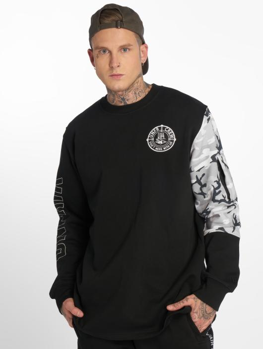 UNFAIR ATHLETICS Pullover DMWU Snowcamo black
