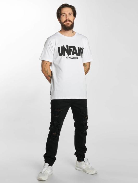 UNFAIR ATHLETICS Tričká Classic biela