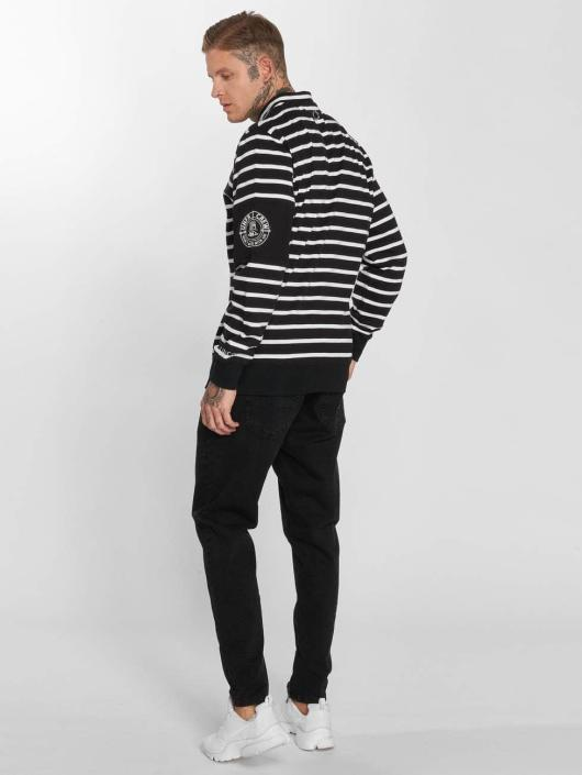 UNFAIR ATHLETICS trui Yarndye Striped zwart