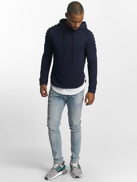 Uniplay Bluzy z kapturem Ripped niebieski