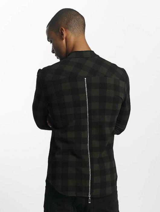 Uniplay overhemd Checkered khaki