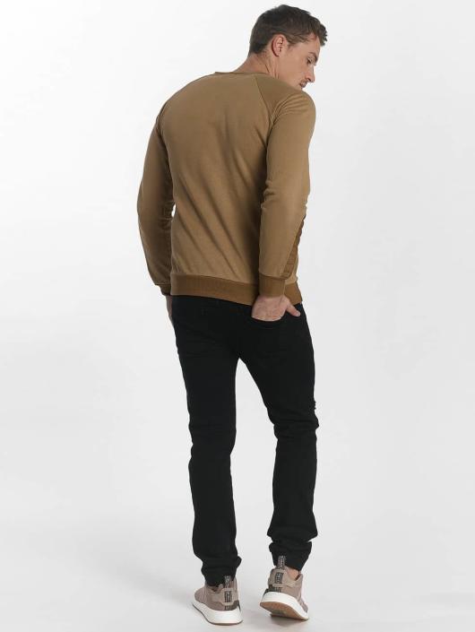 Uniplay Pulóvre Uniplay Sweatshirt hnedá