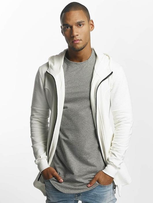 Uniplay Sweat capuche zippé Zipper blanc