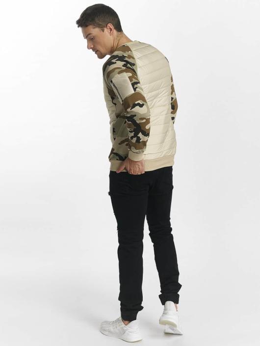 Uniplay Swetry Camo bezowy